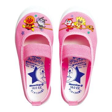 上履き 上靴 室内履き 日本製 アンパンマンバレー02 男の子 女の子 ムーンスター キャラクター バイキンマン ドキンちゃん