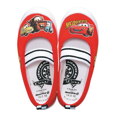 DisneyCarsディズニーカーズ上履き上靴DN05バレー男の子女の子室内履きムーンスターキャラクター日本製