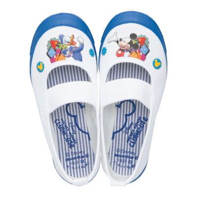 Disneyディズニーミッキーマウス上履き上靴DN08バレー男の子女の子室内履きムーンスターキャラクター日本製ミニーマウスドナルドダック