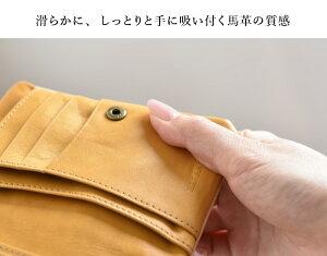 L型L字ファスナー折り財布/二つ折り財布◆ラウンドビオラ≪ブルー≫【送料無料】【HIRAMEKI./ヒラメキ】