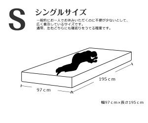 マットレスシングル(幅97cm)ポケットコイル【日本製/3年保証/ランキング1位獲得】(国産/高品質/ポケットコイルマットレスベッドマット)