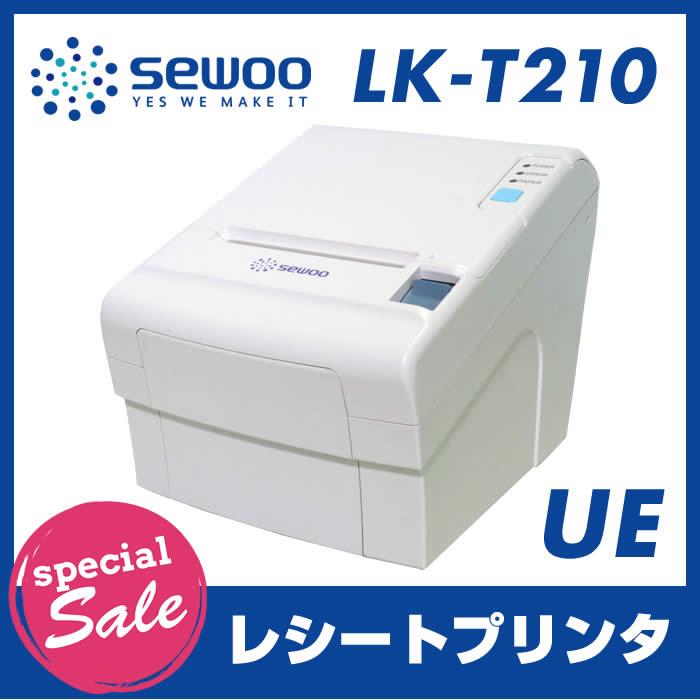 【特価セール】【数量限定】サーマルレシートプリンター LK-T210-UE(USB接続 イーサネット(LAN)接続)上面ペーパー排出 オートカッター ESC/POS互換用紙幅:50mm 〜 82.5mm/180dpi SEWOO:バーコードのハッピープランネット