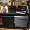 コンテナスツール折りたたみ収納ボックス全2色東谷LFS-678