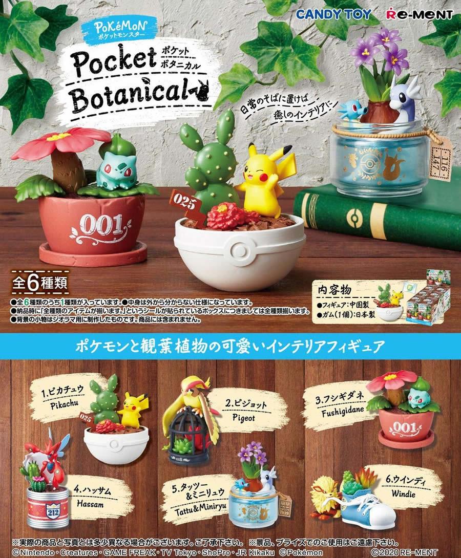コレクション, フィギュア  Pocket Botanical BOX 6