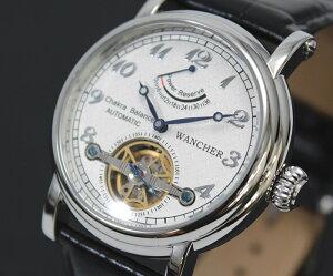 【1514】【即納】【WANCHER/ワンチャー】【腕時計】Chakraチャクラ機械式自動巻きパワーリザーブ搭載/Timeコンセプトモデル【送料無料】