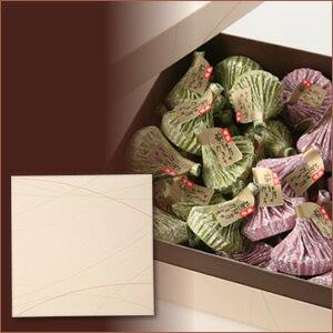 煎餅屋のチョコクランチ【ビター&ホワイト】40個入り