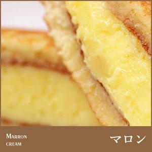 【生クリームどら焼き】マロンクリーム