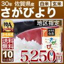 新米 30年産 佐賀県 さがびより 米 10kg(5kg×2...