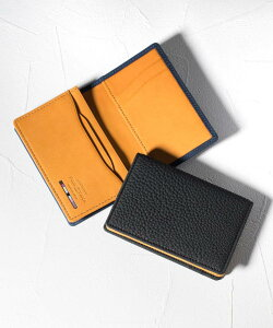 FUJITAKA ACCESSORIES/フジタカ アクセサリーズ バブル財布 名刺入れ メンズ 本革 レザー カードケース シンプル 新入社員 就活 転職 就職 リクルート ビジネス ブランド スリム 薄い