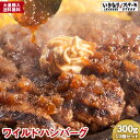 【送料無料】 いきなりステーキ ワイルドハンバーグ300gソ...