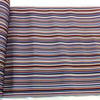 博多帯【マルチストライプ博多帯】絹100%八寸名古屋帯