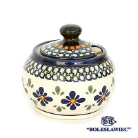 [Boleslawiec/ボレスワヴィエツ陶器]シュガーポットS-du60