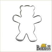 【BIRKMANN/ビルクマン】クッキー型(テディベア、くま、クマ型(中)・7×5.5cm)