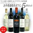 ワインセット 送料無料 赤ワイン 白ワイン 5本セット アルゼンチン ワイン王国 5ツ星