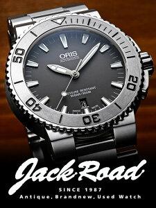 Oris オリス 腕時計 オリス アクイス デイト / Ref.733.7653.4153M 【新品】【腕時計】【うでどけい】【メンズ】【送料無料】