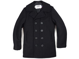 Classic 32 Oz. Melton Wool Naval Pea Coat 740: Navy