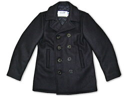 Classic Melton Pea Coat in Boys Sizes 740B: Navy