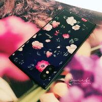 フラワー×ブラック花柄iPhoneケースフラワー小花柄iPhone7ケースiPhone7plusケースiPhone6sケースiPhone6ケースiPhone6sPlusケースカバー黒【DM便送料無料】