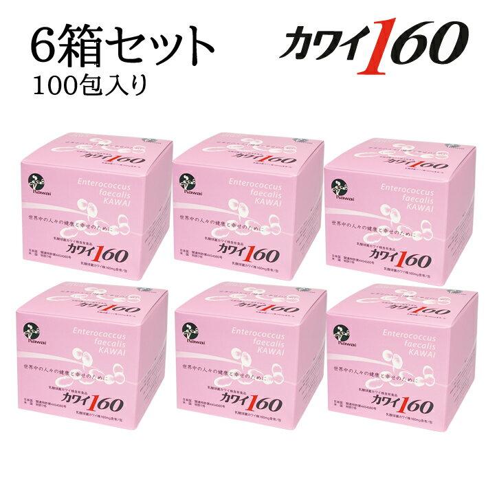 プロバイオティクス, フェカリス菌 6 160 160mg1 100 6 Kawai160