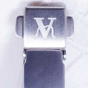 純チタンデザインブレスレットバレンチノモラデイ(ゲルマニウム&酸化チタン粒入り・中折れ留め具)