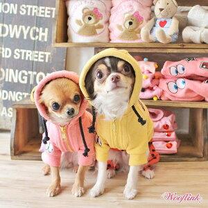 【DM便無料】【WOOFLINK】(ウーフリンク)MYBESTIE(犬服小型犬セレブフード付きワッペン)