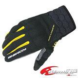 コミネ GK-121 プロテクトメッシュグローブ-グレイヴ KOMINE GK-121 Protect M-Gloves-GRAVE