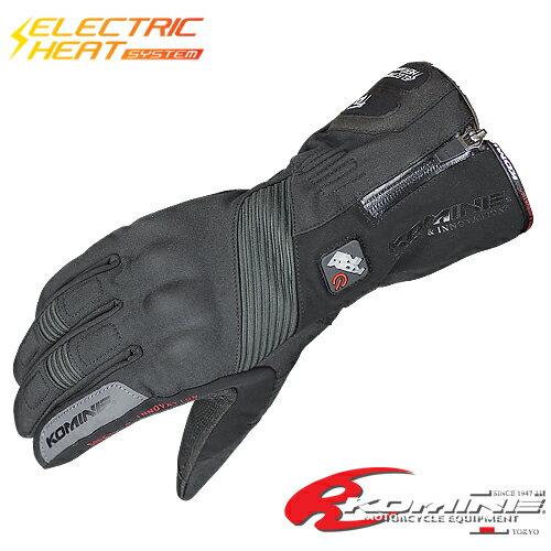 電熱グローブ コミネ GK-804 エレクトリックヒートグローブ-カシウス KOMINE 06-804 バイクグロー...