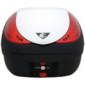 COOCASE(クーケース) V36 WIZARD(ウィザード)BASIC CN30110 パールホワイト テールボックス トップケース 36L リアボックス