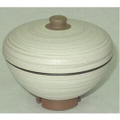 レンジでご飯が炊ける簡単・便利な器♪炊きたて一膳(粉引)【長崎県 波佐見焼】