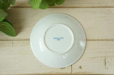 【オーランド】13.5cm丸皿小皿丸プレート皿醤油皿うすかる美濃焼国産日本製陶器軽い軽量食器食洗機対応カフェ北欧風ラッピング不可