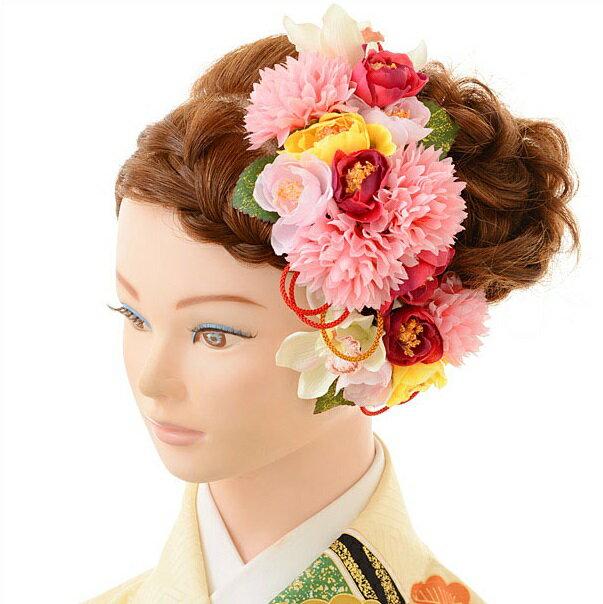 【レンタル】〔振袖 髪飾り〕レンタル 髪飾り 1BI0001fy16REN07(10P03Dec16)