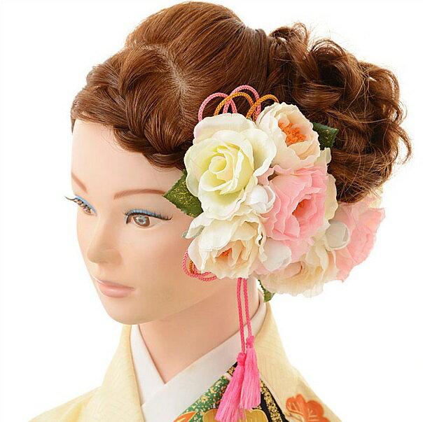 【レンタル】〔振袖 髪飾り 花〕髪飾り 1BI0005fy16REN07(10P03Dec16)