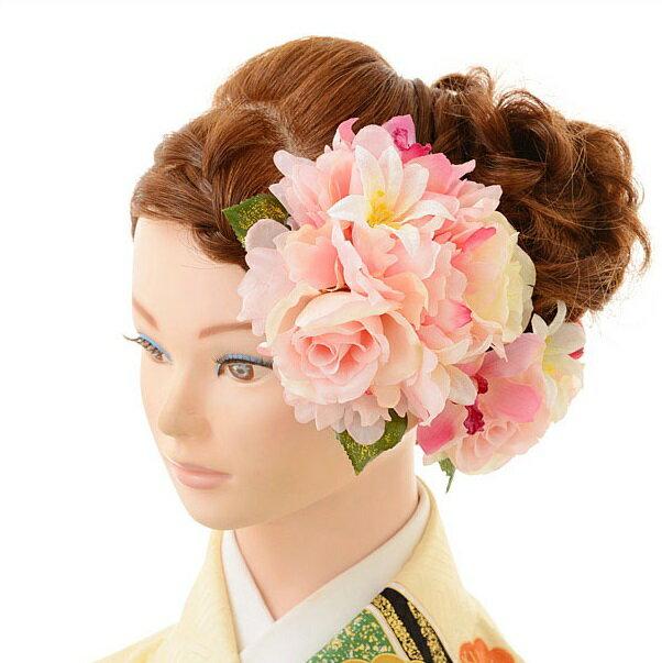 【レンタル】〔振袖 髪飾り 花〕レンタル 髪飾り 1BI0006fy16REN07(10P03Dec16)