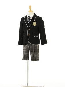 【レンタル】男の子 スーツ1BD0031 〔120cm〕ブラックfy16REN07