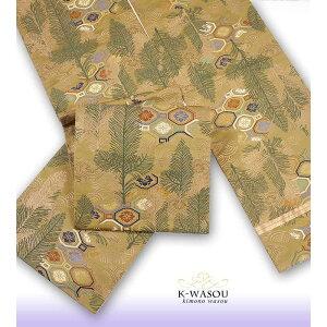 [whole pattern bag obi] recycled bag obi gold silver formal matsuba Showa antique a2g2m1m5m8 used / bag obi / tea cloth / cheap finish [recycled bag obi] [ Used obi] [Used] Cheap