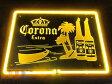 超特大3D ネオン Corona Extra コロナ・エキストラ ネオン看板 インテリア コレクション ネオンサイン 広告 店舗用 NEON SIGN アメリ