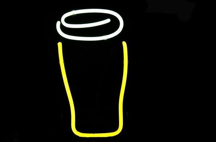 【海外直輸入商品・納期1週間〜 3週間程度】【全国送料送料無料・沖縄・離島を除く】 T691 GUINNESS ギネス ビール ネオン看板 ネオンサイン 広告 店舗用 NEON SIGN アメリカン雑貨 看板 ネオン管