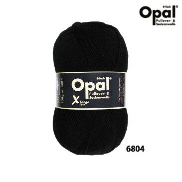 Opal 靴下用毛糸 Uni 8ply 6804 / ブラック