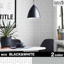 部屋全体 白黒 モノトーン 貼ってはがせる壁紙 壁紙革命 などのインテリア実例 16 12 28 01 06 Roomclip ルームクリップ