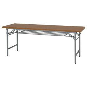 折りたたみテーブル(W1800×D450×H700)木目