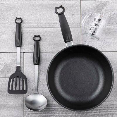 キッチン回りを猫づくしにすることも夢じゃない!?猫のキッチンツールシリーズ「Nyammy」に、パン切りナイフと包丁研ぎが仲間入り!