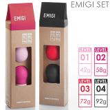 【最大25倍】EMIGI エミギ ラブパール 4種セット /// 女子力アップ ツール 骨盤底筋 トレーニング グッズ ケーゲル インナー ボール ラブグッズ 安心素材
