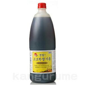 """""""Hermis"""" 1650 ml sesame oil ♦ Korea food ♦ Korea Korea food / seasoning / Korea seasoning / Korea sesame oil and sesame oil / sesame oil / commercial / real cheap"""
