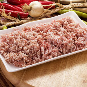 Frozen ▼ ▲ pork mince meat 1 kg ■ Korea food ■ Korea cuisine and Korea food materials and meat / pork, roast meat, dumplings and minced hemp Mabo tofu / stir-fried