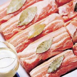 ▼■ Korea food ■ Korean food / Korea food / meat / pork / roasted meat / サムギョプサル per 5 kg of one piece of frozen ▲ pig rose blocks