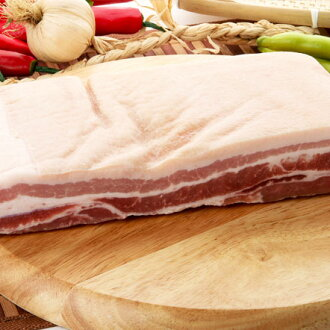 """▼1 kg of pig plate block """"サムギョプサル ■ Korea food ■ Korean food / Korea food / meat / pork / roasted meat / サムギョプサル / オーギョプサル with frozen ▲ leather with leather"""""""