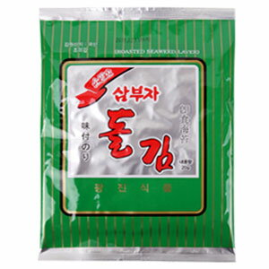 "One bag of ""three father and son"" サンブジャ laver complete form ""entering six pieces"" ■ Korea food ■ food import ■ import food ■ Korea laver ■ laver ■ Korean food ■ Korea food ■ Korea souvenir ■ Korea paste ■ seasoning paste ■ disaster pr"
