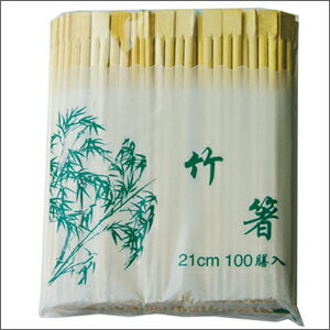 竹箸21cm-100本■韓国雑貨■韓国食品/韓国食器/竹箸/箸/業務用/激安