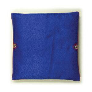 """Cushion cover only """"Indigo"""" 48 x 48 No. 4 ♦ Korea goods ♦ points 10 times / Cushion cover only Indigo color."""