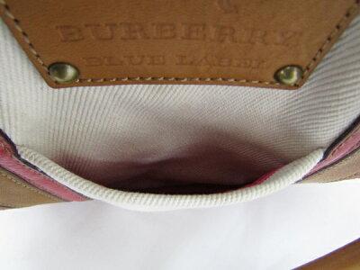【】BURBERRY★BLUELABEL★デニムトートバッグ《かんてい局小山店》